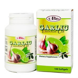 Dầu tỏi chanh Garlic Essential Oil UBB