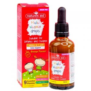 Multivitamin Drops Natures Aid