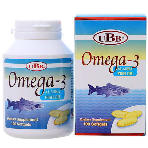 Omega-3 Alaska Fish Oil UBB