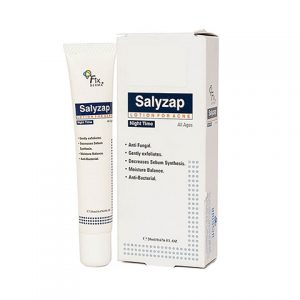 Salyzap Lotion For Acne Night Time